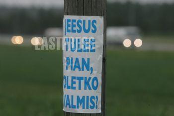 Jeesus Tulee Oletko Valmis